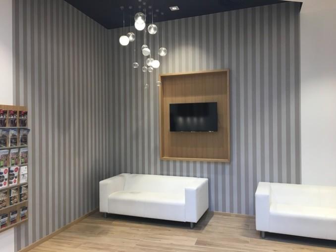 interiéry prodejen