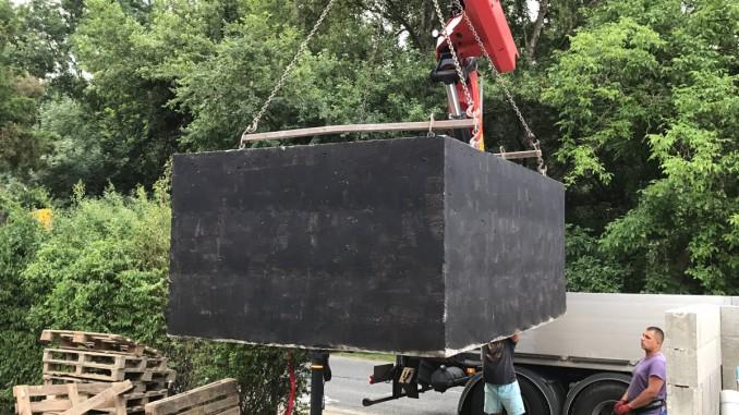 betonové jímky