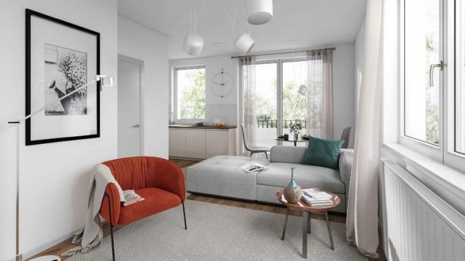 moderní byty na Žižkově